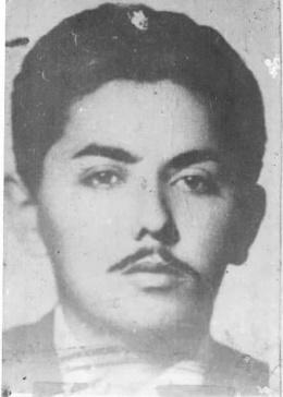 Combatiente Ramón González Campo.