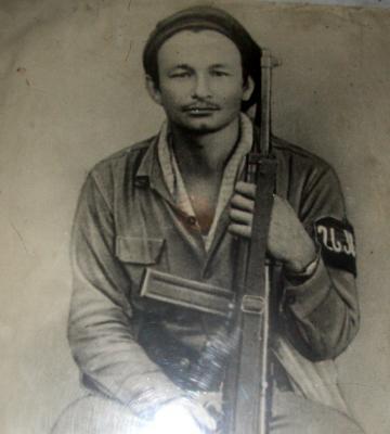 Primer Teniente Israel Santos Santos